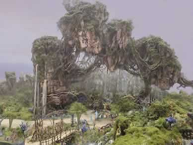 Pandora, o mundo de Avatar, será inaugurada dia 27/05 no Animal Kingdom