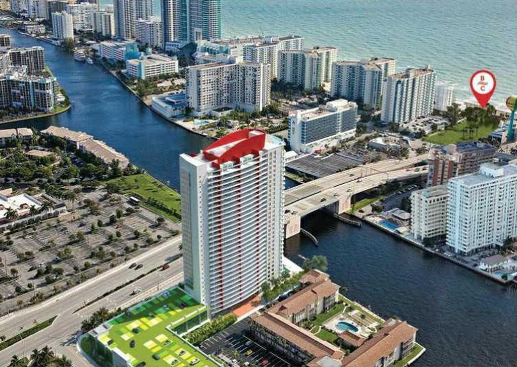 Lan�amento - Hyde Beachwalk Apto de Luxo- Hallandale Beach - Miami-$965,000