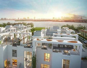 One Bay Residences - Novo Townhouse de Luxo - Pronto em 2017$1,149,900
