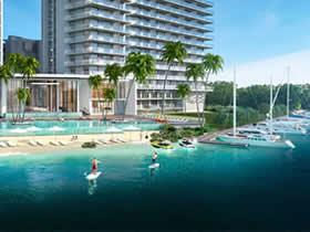 The Harbour - Lancamento - Pronto em 2018 - Aventura - Sunny Isles Blvd - 20% sinal no contrato