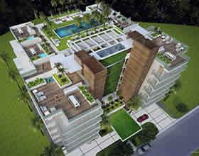 Le Jardim Residences Apto de Luxo Novo - 3 quartos - Bay Harbor Islands - $912,525