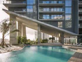 Novo Apto 3 Quartos no Brickell City Centre Rise $852,900