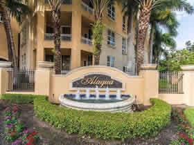Apartamento A Venda em frente o canal na Alaqua - Aventura - Miami $379,000