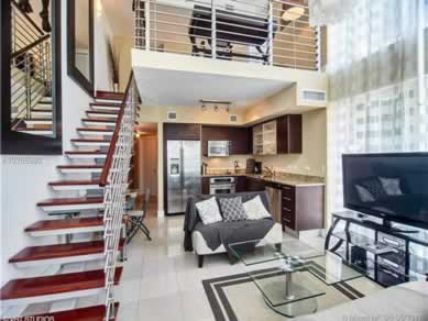 Apartamento Loft Duplex no Brickell on the River - Downtown Miami - $395,000