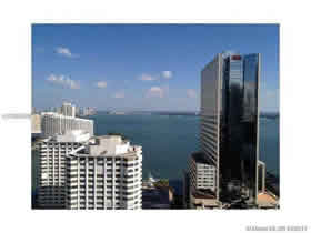 Apto mobiliado no 26 andar no Centro do Cidade - Brickell Ave - Downtown Miami $575,000