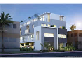 Novo Townhouse A Venda no Bay Ritz - Miami Beach - 3 quartos $598,750