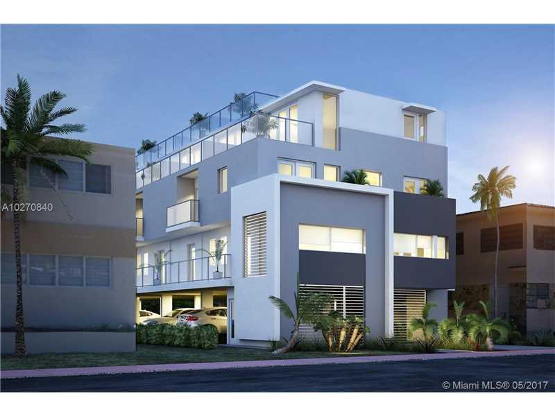 Novo Townhouse A Venda no Bay Ritz - Miami Beach - 3 quartos $598,750