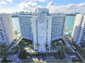 Apto Mobiliado em Apart-Hotel em Miami Beach - pode fazer aluguel temporada $280,000