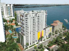 Lançamento - Luxuosos Apartamentos no The Crimson em Miami