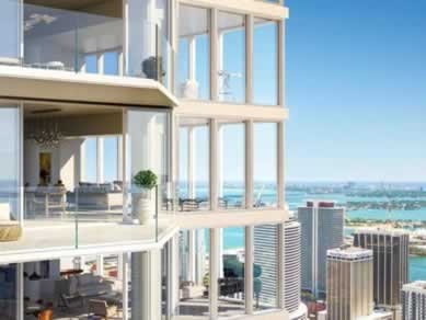 Apto de Luxo no One River Point - Miami - $1,976,000