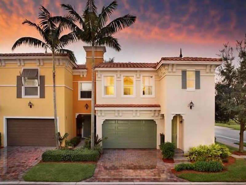 Casa Geminada Em Construção no Sunrise, Florida (4 dormitórios) - $579,500