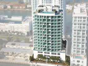 Apartamentos em North Bay Village, Miami - Cielo On The Bay