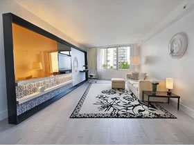Imóvel Luxuoso e Completamente Mobilhado em Mondrian South Beach, Miami Beach $399,000