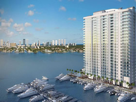 Lançamento - Marina Palms Yacht Club and Residences em Miami