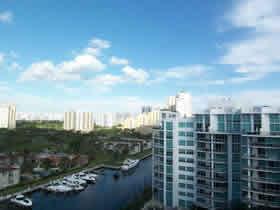 Cobertura Loft de 2 quartos com 2 vagas em Aventura - Miami $385,000