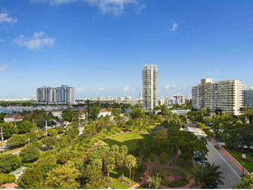 Apartamento mobiliado em Miami Beach $419,000