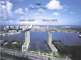 Lançamento Marina Palms em Aventura - Miami -- A partir de $800,000