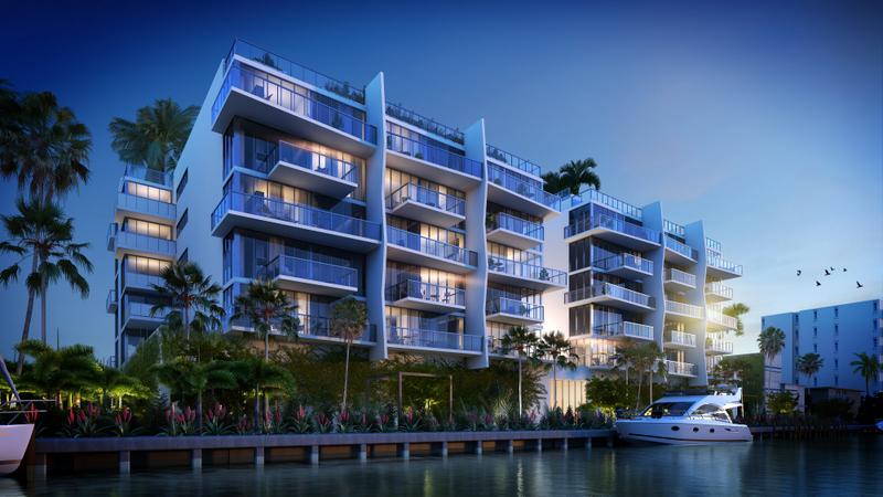 Lan�amento Kai at Bay Harbor em Miami - a partir de $600,000