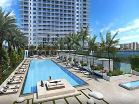 Novos Apartamentos de Luxo no Hyde Beach House - Miami - A partir de $605.900