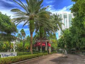 Apartamento em condominio fechado - Aventura - Miami - 2 dormitorios - $299,500